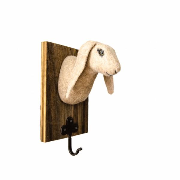 Filz-Hase mit Schlüsselhaken
