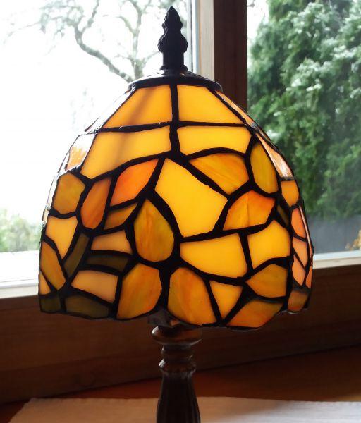 Lampe im Tiffany-Stil